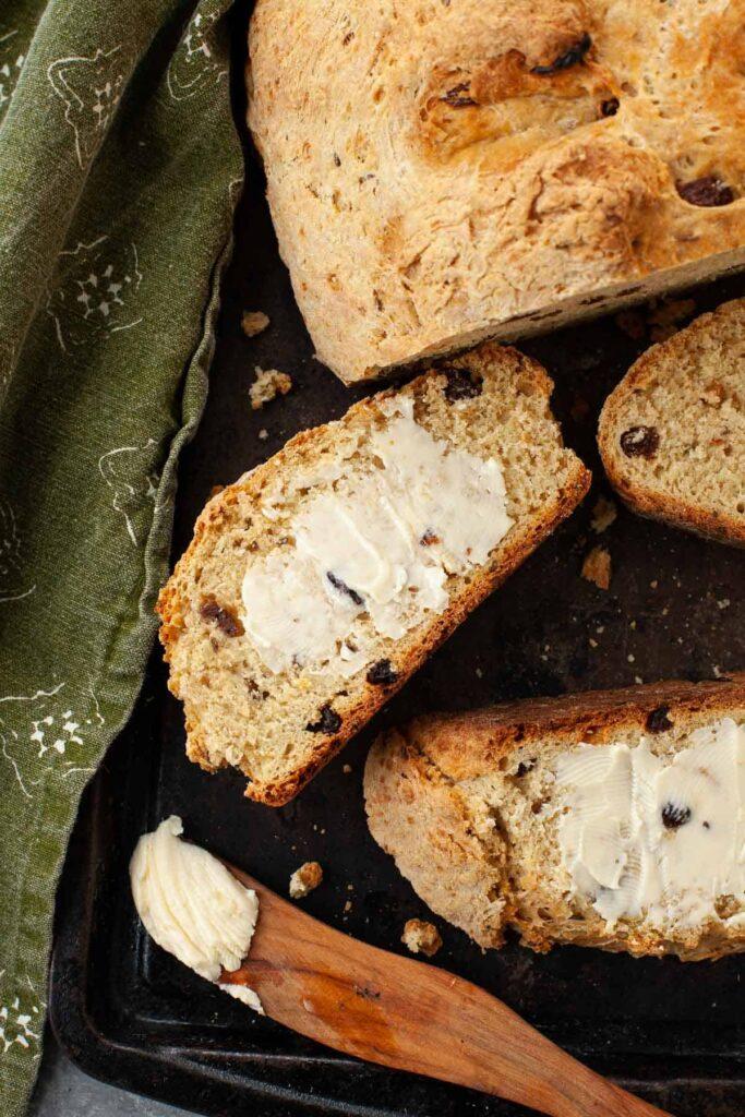 st Patrick's day recipe Irish soda bread